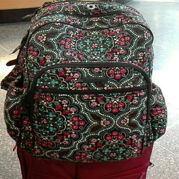 Vera Bradley Bags   Nwt New Bradley Disney Mickey Medallion Backpack ... b21a088e68